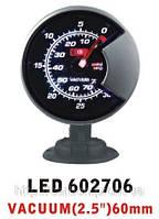Тюнинговый автомобильный прибор Ket Gauge LED 602706 вакуум