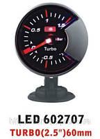 Тюнинговый автомобильный прибор Ket Gauge LED 602707 давление турбины
