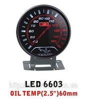 Тюнинговый автомобильный прибор Ket Gauge LED 6603 температура масла