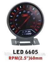 Тюнинговый автомобильный прибор Ket Gauge LED 6605 тахометр