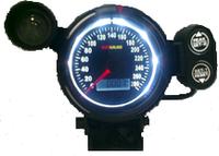 Тюнинговый автомобильный прибор Ket Gauge MPH 37601 спидометр