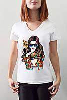 """Женская футболка """"SWAG"""""""