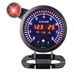 Тюнинговый автомобильный прибор Ket Gauge LED 998184 тахометр + вольтметр+давление масла