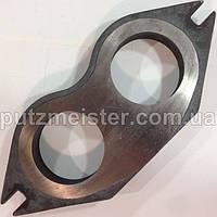 Изнашиваемая очковая плита для бетононасосов Putzmeister