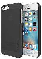 Чехол Incipio Feather Pure Apple iPhone 5, iPhone 5s, iPhone SE Black (IPH-1436-BLK)