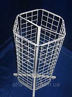 Вертушка барабан сеткой для навешивания крючков,кронштейнов