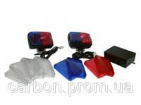 Стробоскоп TYPE R 714 белые красные синие стёкла
