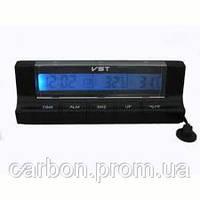 Автомобильный термометр с часами VST 7037, фото 1