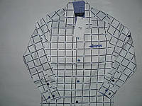 Рубашка приталенная в клетку Armani  5-8 лет
