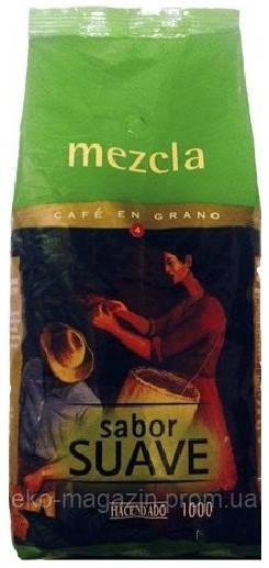 Кофе Hacendado mezcla suave 1кг зерно