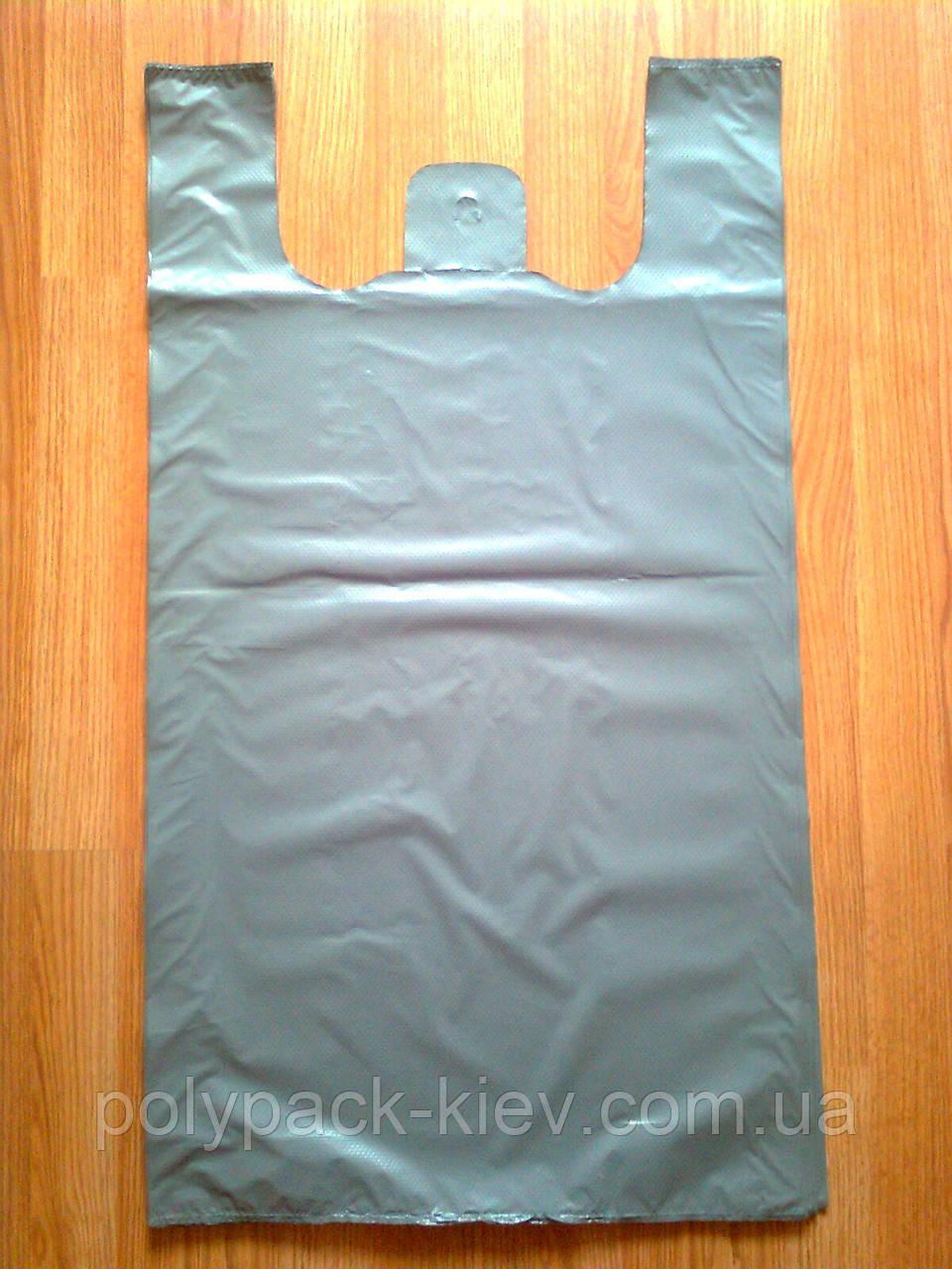 Поліетиленові пакети 50*90 см/ 50 шт. уп, тип BMW БМВ пакет мега-майка міцні щільні без печатки малюнка Київ