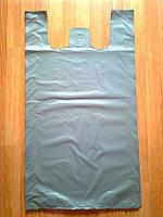 Полиэтиленовые пакеты 50*90 см/ 50 шт.уп, тип BMW БМВ пакет мега-майка прочные плотные без печати рисунка Киев