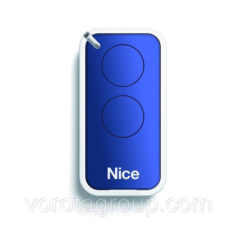 Пульт Nice 2-х канальный (blue) (INTI2B)