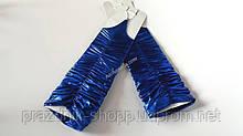 Перчатки женские, синие.