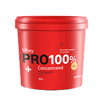 Cывороточный протеин банан 800 г  PRO 100%+ Whey Concentrated AB PRO ™