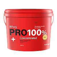 Протеин банан сывороточный 2500 г PRO 100%+ Whey Concentrated AB PRO ™