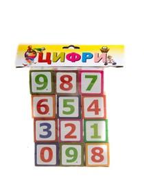 Кубики Цифри Т-1020м