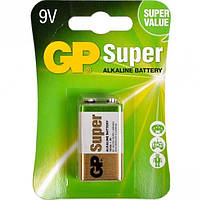 Батарейка Krona 9 Вольт GP Alkaline GP Super Battery 1604A C1