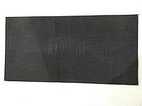 Полиуретан 400х200х6 черный рифленый.