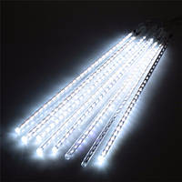 """Гирлянда """"Тающие сосульки"""" 50 см LED, белый"""