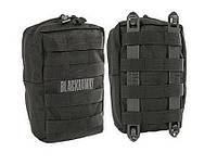 Подсумок BLACKHAWK! Upright GP Pouch with Speed Clips 2x Black