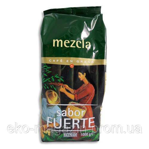 Кофе hasendado mezcla sabor fuerte 1кг