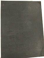 Полиуретан 260x390х6 черный рифленый