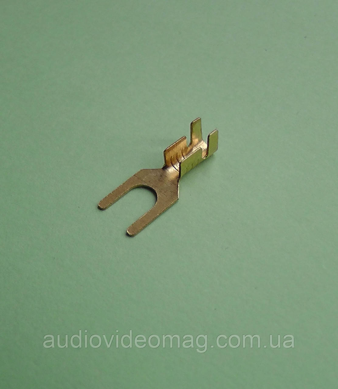 Клемма вилочная под контакт 4 мм , упаковка 50 шт.