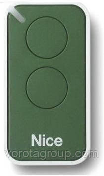 Пульт Nice 2-х канальный green (INTI2G)