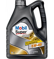 Масло моторн. MOBIL SUPER 3000 5W-40 API SN/SM  (Канистра 4л)
