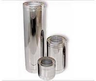 Трубы дымоходные двустенные термоизоляционные с нержавеющей стали