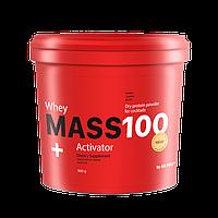 Ванильный (30 % белка) гейнер  MASS 100+ Whey Activator AB PRO ™ 900г