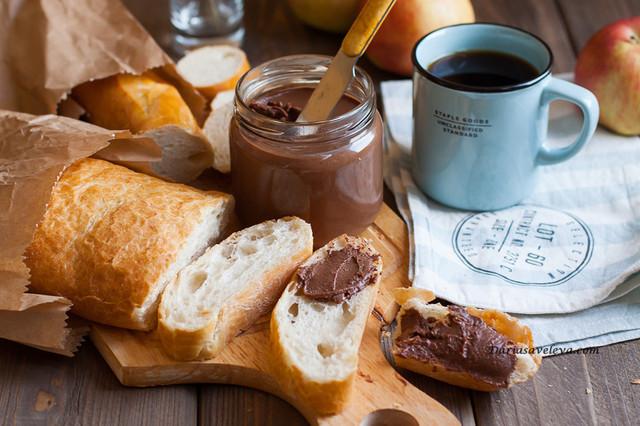 Шоколадные, ореховые пасты, сгущенное молоко