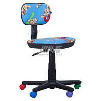 Кресло детское Бамбо цифры -синий, фото 1