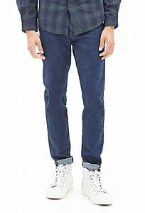 Джинси Forever 21 Man - Classic Slim Denim Navy 1 (мужские джинсы)