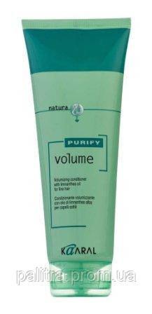 Крем-кондиционер для тонких волос с маслом лимнантеса 250 мл, Kaaral Purify Volume Conditioner - Интернет-магазин «Палитра» в Днепре
