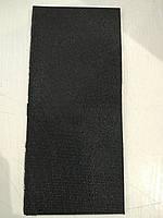 Полиуретан львовский 290х130х6 черный рифленый