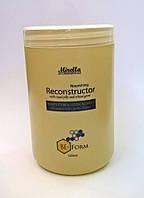 Восстанавливающий крем-кондиционер для поврежденных волос с маточным молочком 1000 мл, Mirella BeeForm
