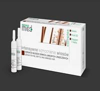 Сыворотка для тонких, хрупких и поврежденных волос 10*8 мл, Prosalon  Med Serum For Fine, Brittle and Damaged