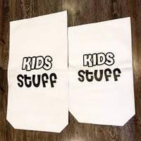 Крафт мешок для хранения игрушек, эко мешок для игрушек