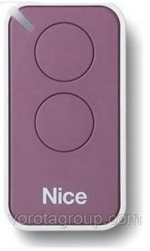 Пульт Nice 2-х канальный, lilac (INTI2L)