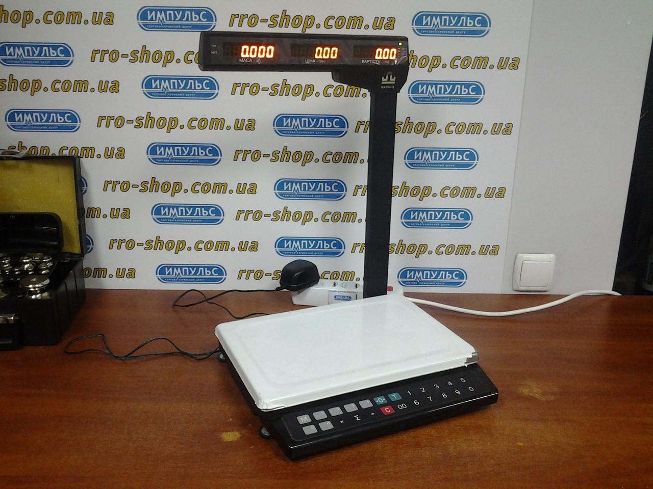 Торговые весы Масса-К МК-32.2-ТН20