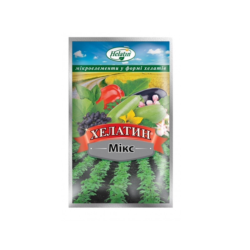 Удобрение Хелатин Микс 50мл