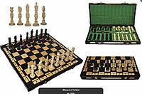 Шахматы 3109 GALANT, коричневые