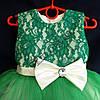 """Платье нарядное бальное детское 2-3 года """"Нарядное"""" зеленое  Украина оптом, фото 2"""