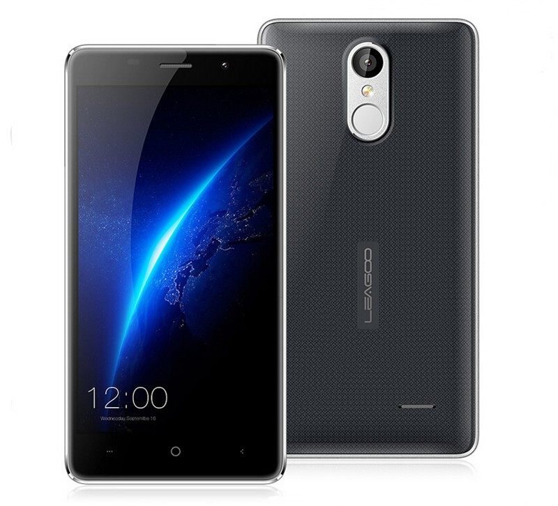 "Смартфон Leagoo M5 Black 2/16Gb, 8/5Мп, 2sim, экран 5"" IPS, Gorilla Glass 4, GPS, 3G"