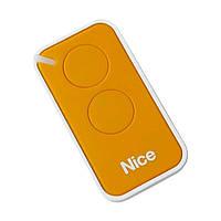 Пульт Nice 2-х канальный, yellow (INTI2Y), фото 1