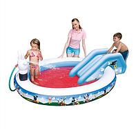 Детский надувной игровой центр бассейн BestWay 91014 Микки Маус