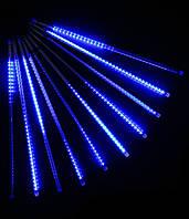 """Гирлянда метеоритный дождь """"Тающие сосульки"""" 30 см LED, синий"""
