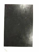 Полиуретан технический львовский 190х130х6 черный гладкий.